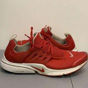 Nike Air Presto Red Men's Sneaker